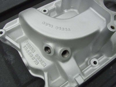 65/66 Cobra Intake manifolds question | Shelby Forums