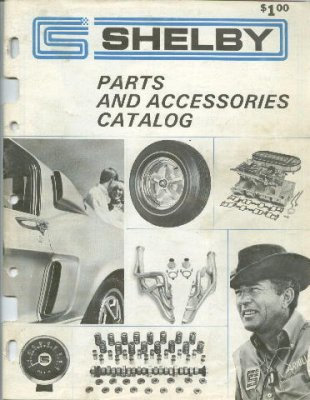 1969 Shelby Parts and Accessories Catalog | Shelby Forums - Carroll