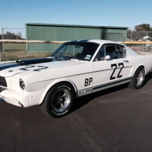 1966 GT350R Tribute...check it!