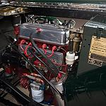 1949 MG TC Roadster Race Car Engine by rshelby