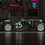 1949 MG TC Roadster Race Car Side by rshelby