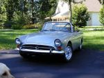 1966 Sunbeam Tiger MK1A Silver Tiger by The Commissioner