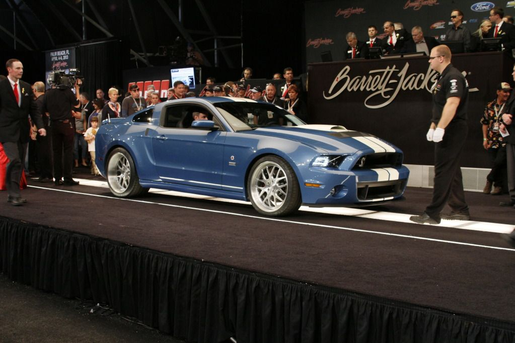2013 GT500 Carroll Shelby Tribute