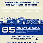 Carroll Shelby Tribute 2015 by rshelby