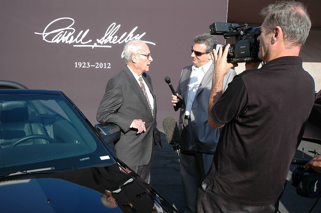 Carroll Shelby Memorial Bill Neale by rshelby in Carroll Shelby Memorial at the Petersen Museum