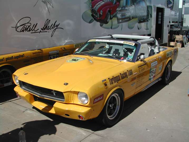 Panamericana Racing Mustang by rshelby in Unique Performance Car Show 10/18/2003