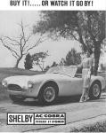 Early Ad for the 2000 Series Cobra by 427SnakeSC